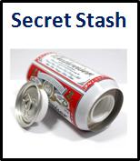 Secret Stash Safe Products Discrete Hidden items and valuables  in a candle, key, book and more