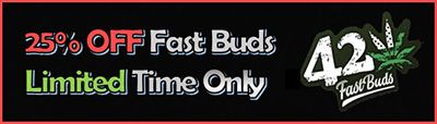 25% Discount on all Fast Buds Cannabis Strains - for a limited time only - Simply add to cart and the discount will apply