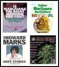 ganja books cannabis marijuana growing cooking stories magazines guides grow bible