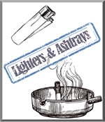 Buy Lighters & Ashtrays cheap at Just Feminized