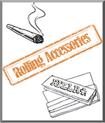 Rizla, Rolling Papers and Rolling Accessories boxes storage etc